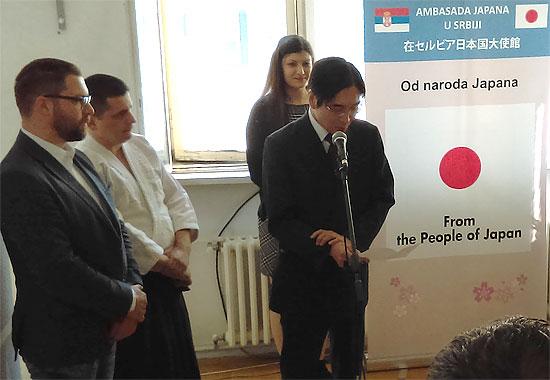 Vlada Japana donirala 7.900 evra za Aikido Dođo Taka iz Niša